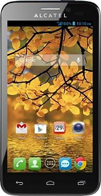 Alcatel One Fierce Prepaid Phone - Silver (T-Mobile)