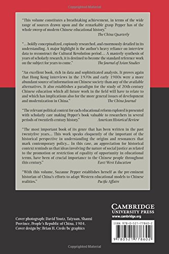 Radicalism and Education Reform in 20th-Century China: The Search for an Ideal Development Model