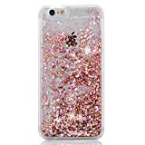 iPhone 6 Case, iPhone 6S Case, Crazy Panda® Luxury Bling Glitter Sparkle Hybrid Bumper Case Liquid Infused with Glitter and Stars For Iphone 6/Iphone 6S Obtained Test Report - Pink Diamonds