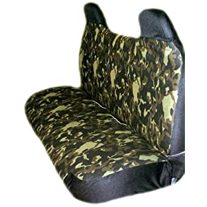 Camouflage Universal Truck Bench Seat Cover Small Truck
