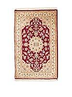 QURAMA Alfombra Kashmirian Rojo/Beige