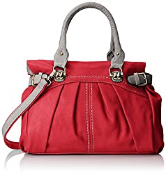 MG Collection Gabby Oversized Shopper Hobo Shoulder Bag, Fuchsia Pink, One Size