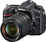 Nikon D7100 SLR-Digitalkamera (24 Megapixel, 7,8 fach opt. Zoom, 8 cm (3,2 Zoll) TFT-Monitor, Full-HD-Video) Kit inkl. Nikon AF-S DX 18-140 mm VR-Objektiv -