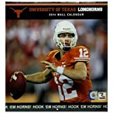 Turner - Perfect Timing 2014 Texas Longhorns Team Wall Calendar, 12 x 12 Inches (8011389)