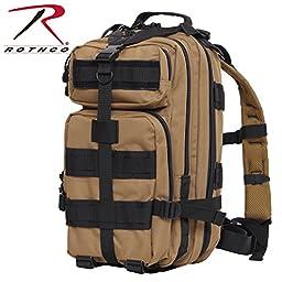 Rothco Medium Transport Pack, Coyote Brown/Black