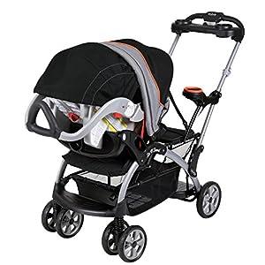 Baby Trend Sit N Stand Ultra Stroller, Millennium Orange by Baby Trend
