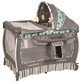 Baby Trend Deluxe Playard, Provence