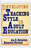 Developing teaching style in adult education /