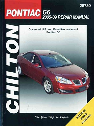 pontiac-g6-automotive-repair-manual-05-09-by-tim-imhoff-published-august-2010