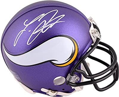 Laquon Treadwell Minnesota Vikings Autographed Riddell Mini Helmet - Fanatics Authentic Certified - Autographed NFL Mini Helmets