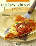 echange, troc Collectif - Les bonnes saveurs - Quiches, cakes et tartes salées
