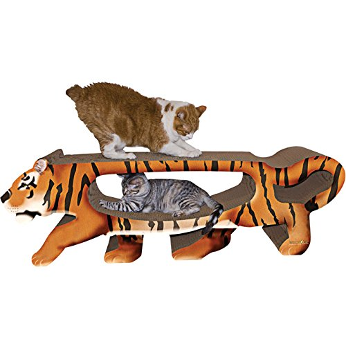 Tiger Cat Scratcher Bed
