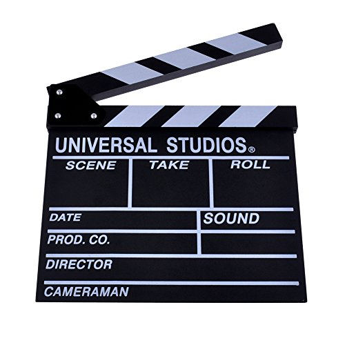 Neewer® Wooden Director's Film Movie Slateboard Clapper Board