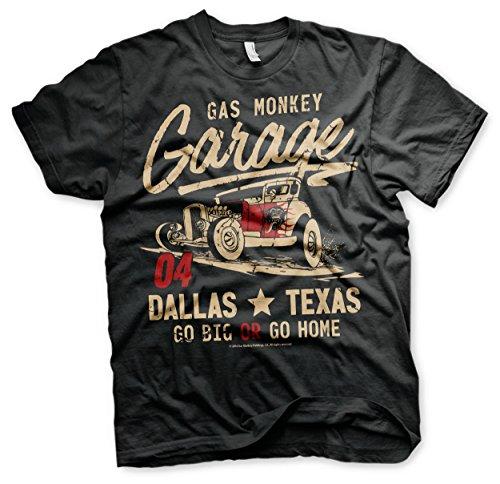 Gas Monkey Garage Flames Of The Devil T-Shirt (Medium)