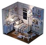 ドールハウス 手作りキットセットミニチュア Sunshine Series (白 H-003)