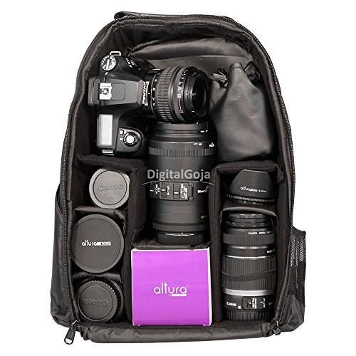 Travel Camera Bag Case Backpack for DSLR SLR Canon EOS Rebel