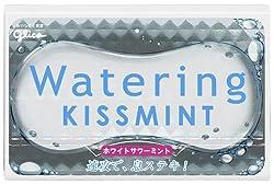 グリコ ウォータリングキスミント<ホワイトサワーミント> 8枚×8箱