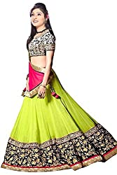 Shop Integrity Latest Arrival Green Lehenga Choli