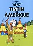 Poster Moulinsart Album de Tintin: Tintin en Amérique 22020 (70x50cm)...