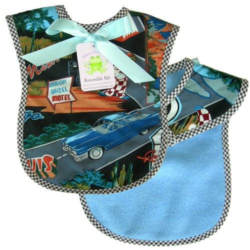 Patricia Ann Designs Route 66 Reversible Bib