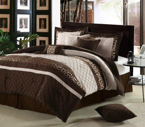 Cheetah bed set