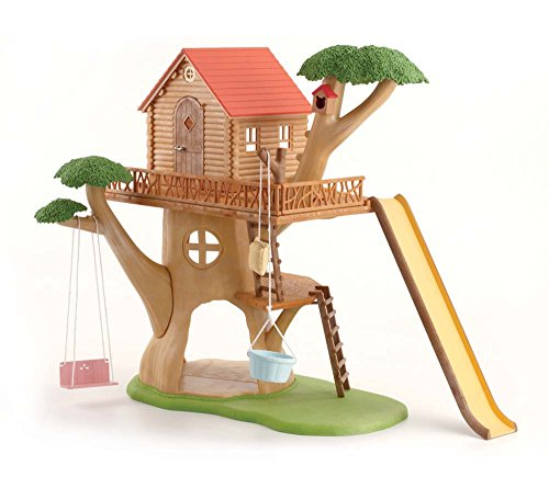 Calico Critters Adventure Tree House (Lil Woodzeez Treehouse compare prices)