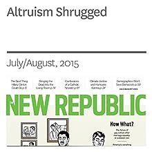 Altruism Shrugged (       UNABRIDGED) by Elizabeth Stoker Bruenig Narrated by Derek Shetterly