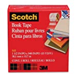 Scotch Book Repair Tape - Clear - 1 R...
