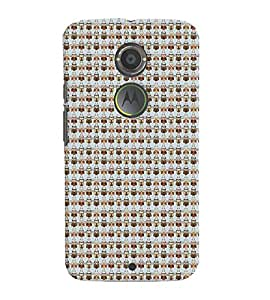 Fuson Premium Birds Design Printed Hard Plastic Back Case Cover for Motorola Moto X (2nd Gen)