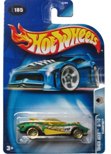 Hot Wheels 2003 Track Aces Flashfire 9/10 GREEN 185 - 1