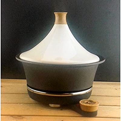 Netherton Foundry Iron Table Top Electric Tagine - Cream by The Cowshed