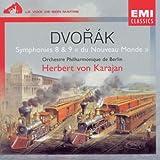 "echange, troc Antonin Dvorak, Orchestre philharmonique de Berlin, Herbert von Karajan - Dvorak - Symphonies n° 8 et n° 9 ""du Nouveau Monde"""