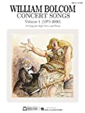 img - for Concert Songs Vol. 1 High Voice 1975-2000 book / textbook / text book