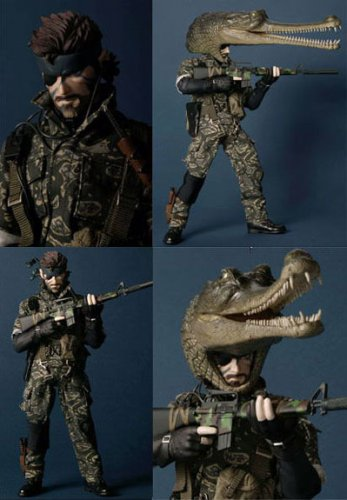 METAL GEAR SOLID3 SNAKE EATER (CAMOUFLAGEver)REAL ACTION HEROES