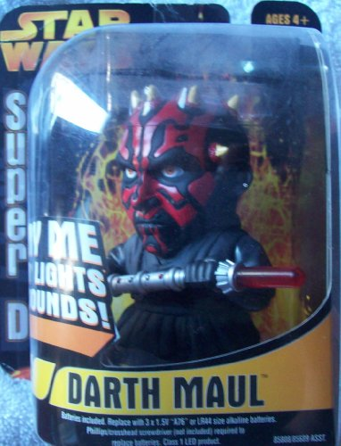 Star Wars Darth Maul Super D Figure