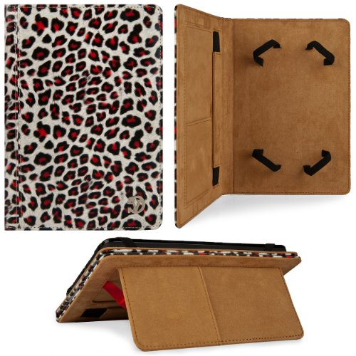 Unscrupulous & Gold Leopard VG Mary Series Prominence Case for Nextbook Premium 7 (7 Tablet)