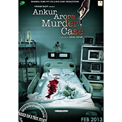 Ankur Arora Murder Case - DVD (Hindi Movie / Bollywood Film / Indian Cinema) 2013