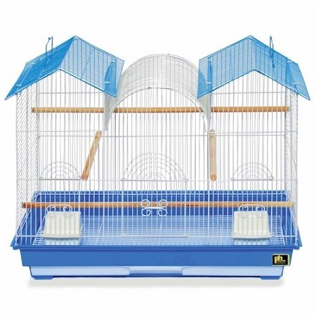 Bird Cages - Parakeet Triple Roof Flight Cage