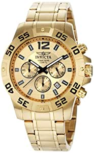 Invicta Men's 1503 Chronograph 18k Gold Ion-Plated Stainless-Steel Watch