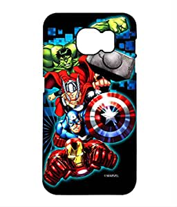 Block Print Company Avengers Fury Phone Cover for Samsung S6