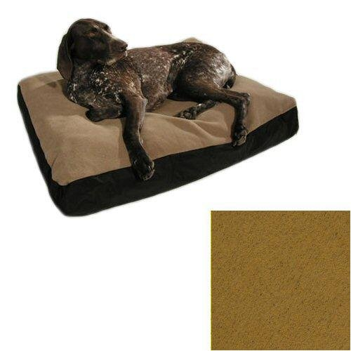 Big Shrimpy Original Dog Bed Replacement Cover In Walnut (Walnut, X-Large (47 X 59)) front-113016