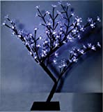 45cm LED Cherry Tree Blue Christmas Decoration