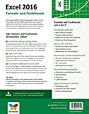 Image de Excel 2016 - Formeln und Funktionen: Dank verständlicher Anleitungen und praxisnaher Beispiele schn