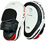 EMRAH Boxing Hook & Jab Punch Pads MMA Target Focus Punching Mitts Thai Strike Kick Shield - X