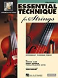 Essential Technique for Strings - Viola: (Essential Elements Book 3)