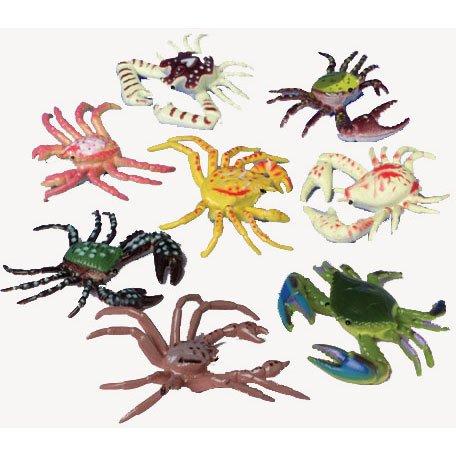 US Toy Plastic Toy Crabs Action Figure (1 Dozen)