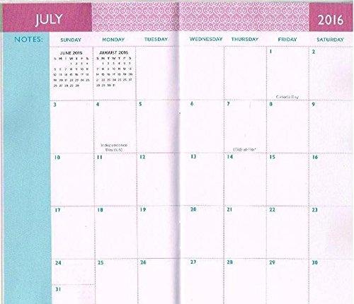 Three Year Calendar Planner : Year  horses pocket planner daily organizer
