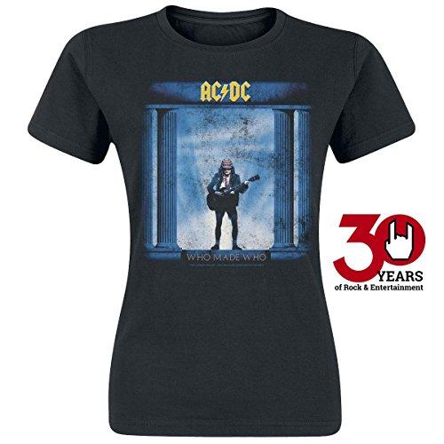 AC/DC Who Made Who Maglia donna nero XL