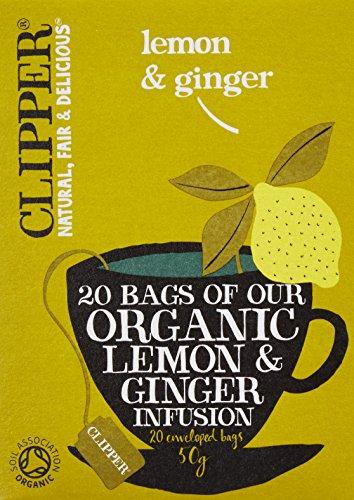 クリッパー レモン&ジンジャーティー 50g (20×2.5gティーバッグ)