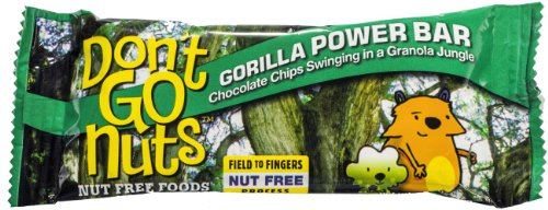 Don'T Go Nuts: Peanut & Tree Nut Free, Non-Gmo Energy Bars, 12 Count Box, 45 Gram Bars (Gorilla Power Bar (Granola & Chocolate Chips))